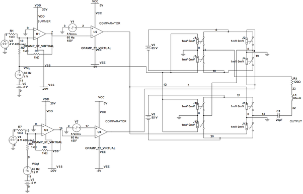 How many IGBT switches are used in 7 level multi-level inverter? - Quora