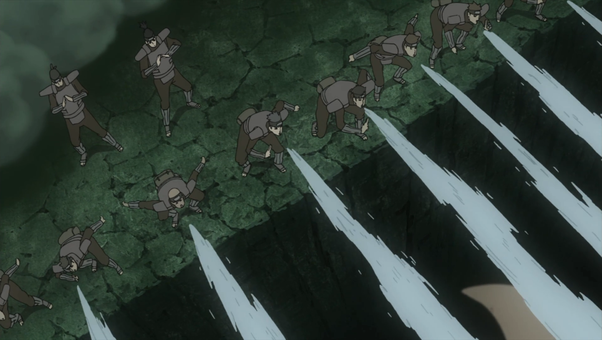 In Naruto, why do all the ninja from the Hidden Mist use