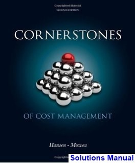 where can i download the solution manual for cornerstones of cost rh quora com Waste Management Solutions Asset Management Solutions