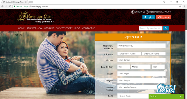 Matchmaking matrimonial websites
