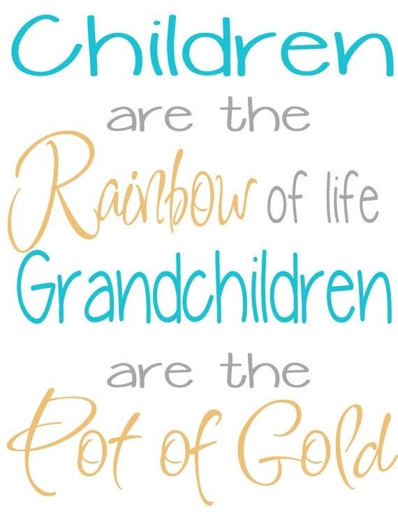 Do grandparents love their grandchildren more than their own ...
