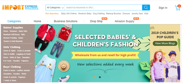 Who is a good wholesale provider for children's boutique clothing