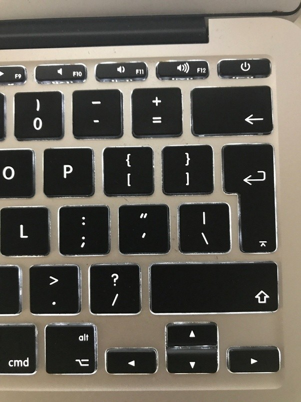How to underscore on a Mac keyboard - Quora