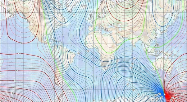 What is a magnetic declination and dip? - Quora