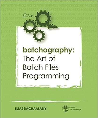 Batch File Programming Book Pdf