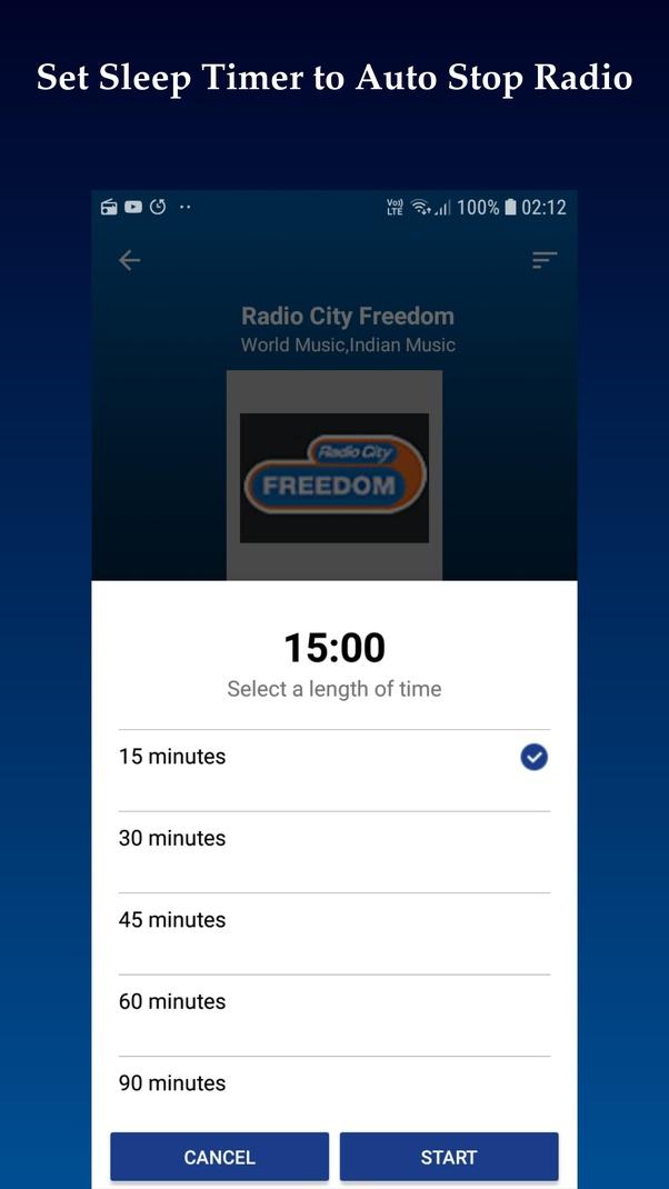 Music for radio news
