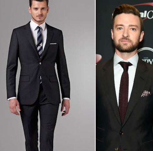 What color of shirt and tie should one wear with a black for Black suit with black shirt and tie