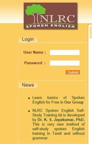 Nlrc Spoken English Tamil Pdf