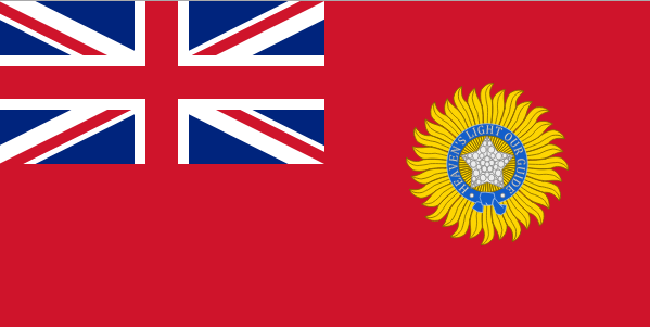 why did british india and canada have a red ensign whereas