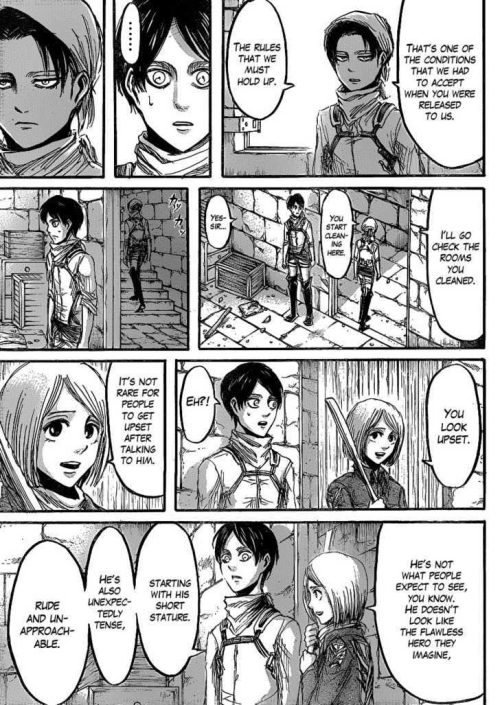 Did Levi from Attack on Titan love Petra? Maybe I'm missing