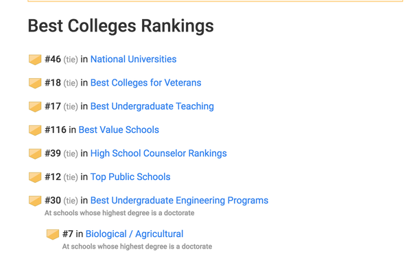 Is there a reason why UC Davis is not as popular as other