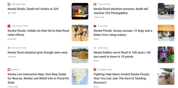 Why are national media neglecting floods in Kerala? - Quora