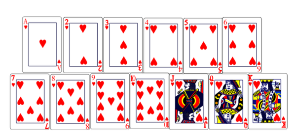 How Many Hearts Are In A Pack Of A Cards Quora