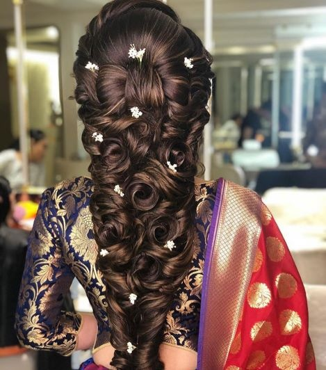 Hindu Bridal Hairstyles 14 Safe Hairdos For The Modern: What Are Some Indian Wedding Hairstyles For Brides?