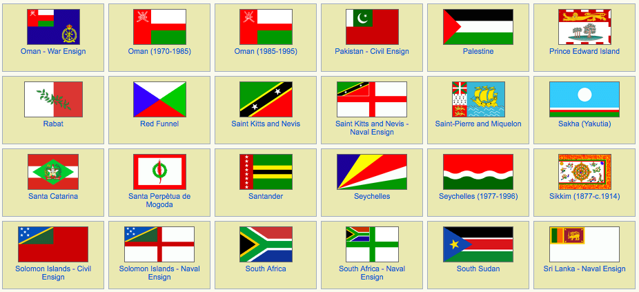 What Countries Have The Colors Red White And Green On Their Flags
