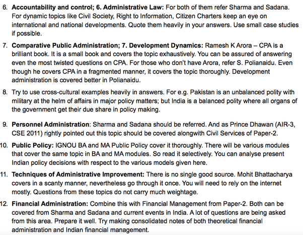 Which books should i refer to for the public administration optional for paper 2 fandeluxe Image collections