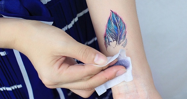 How to easily remove temporary tattoos - Quora