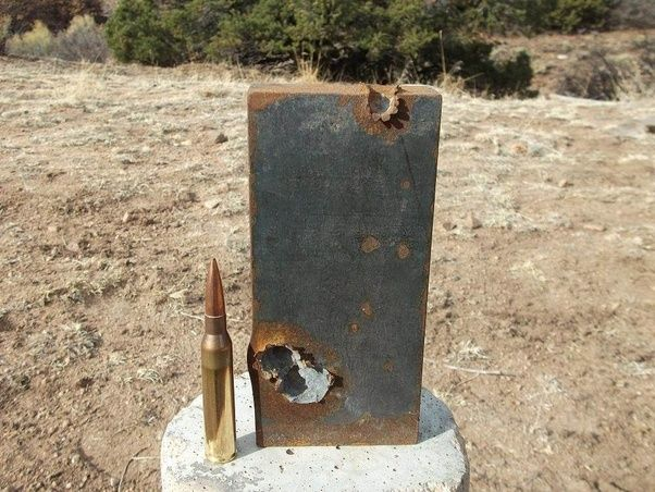 50 bmg penetration inches concrete