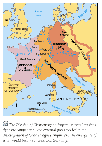 Why didn't Charlemagne's Empire last after his ? - Quora on
