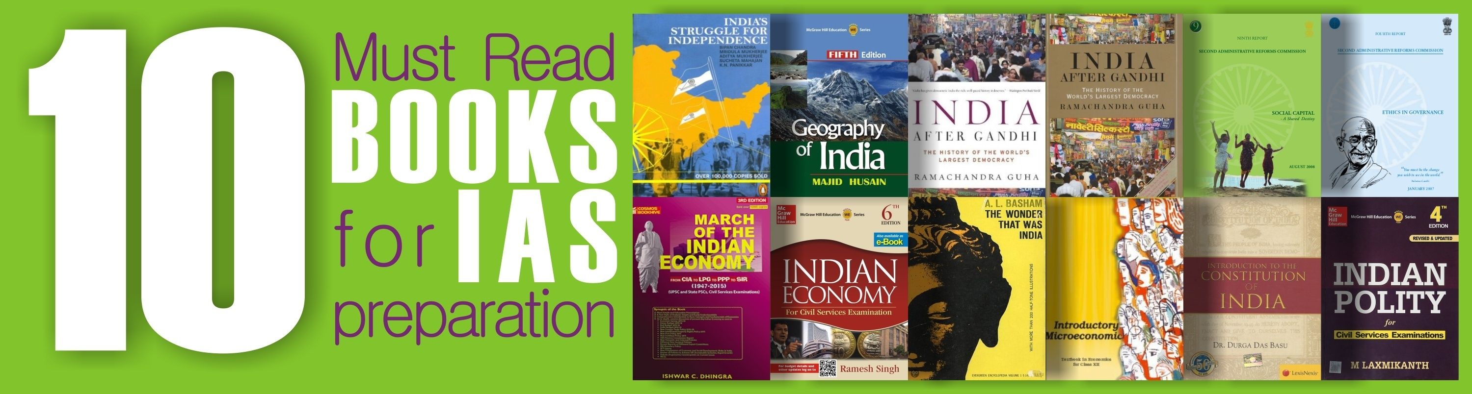 What books should I read for an IAS prelims paper? - Quora