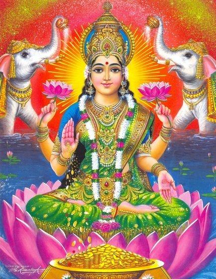 Sri Mahalakshmi Abhishekam Sankashtahara Chaturthi