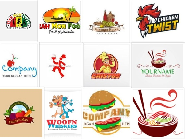 What Is A Good Logo Design For A Food Company Quora