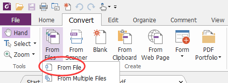 pdf to word using foxit