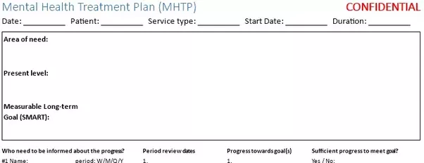 mental health treatment plan mhtp it for sure can help you reflecting your own finding and embed into your patients treatment workflow the template