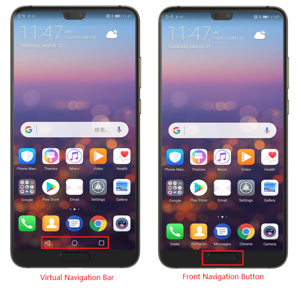 How to set the Huawei P20's front navigation button - Quora