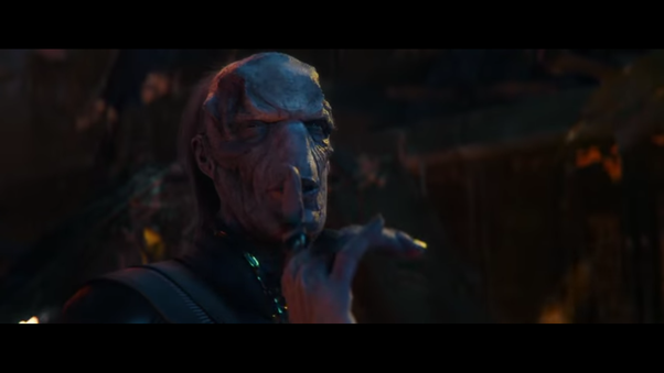 who is the voldemort-looking guy in the avengers infinity war? - quora