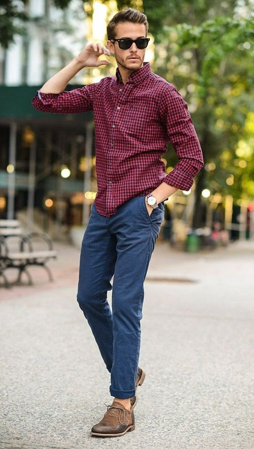 5ee296644799 Should I wear a maroon shirt with brown shoes  - Quora