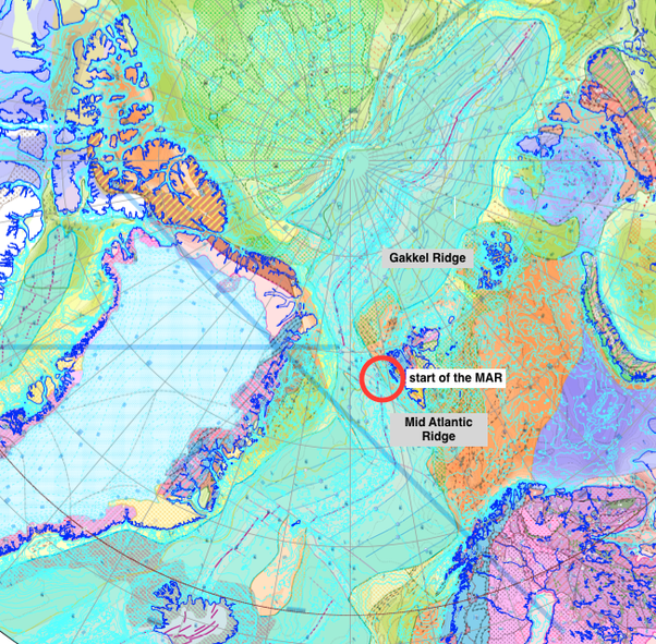 How long is mid atlantic ridge quora geologic map of the arctic ocean showing the conventional northern end of the mar sciox Gallery