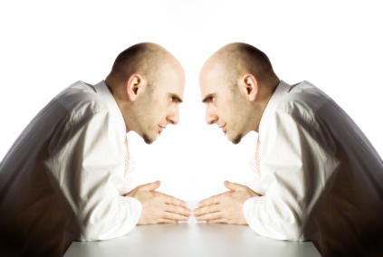 Psychology about talking to yourself during tasks