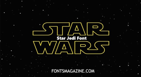 Can I use the Star Jedi Typeface font for commercial use