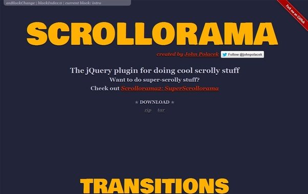 List some jQuery plugin for scrollbar? - Quora