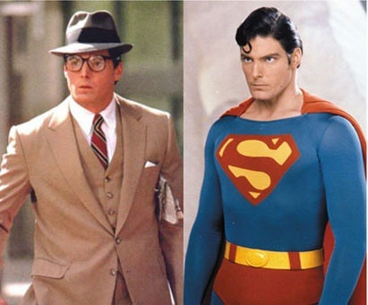 Why dont people ever recognize supermansupergirl quora this is christopher reeve as clark kent and superman solutioingenieria Gallery