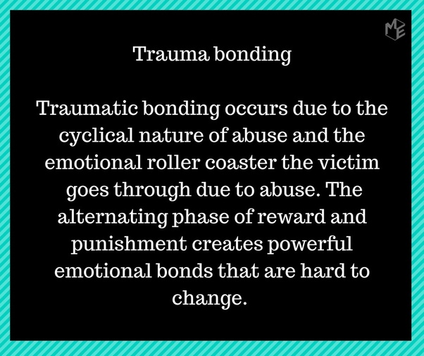 What does a trauma bond with a narcissist look like? - Quora