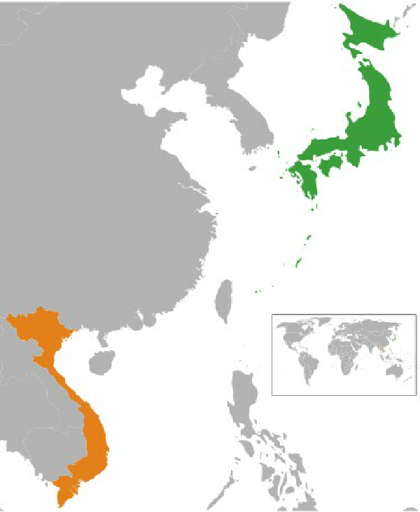 Did South Korea or Japan have a closer tie to Vietnam over the ages ...
