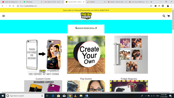 huge discount 36e7b af3ee Which is the best site for customized mobile covers in india? - Quora