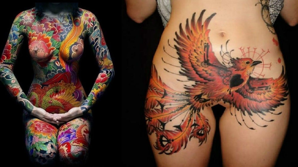tattoos near private parts