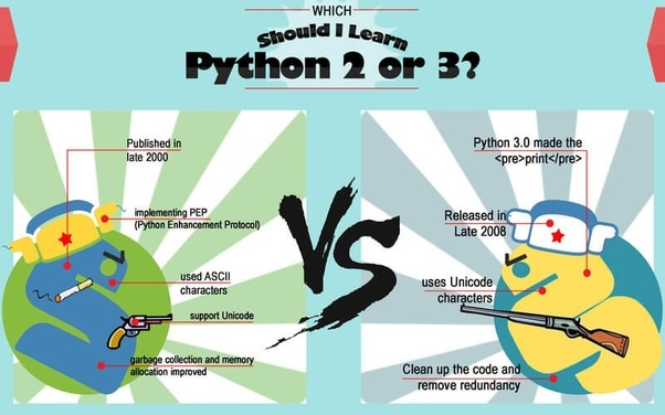 What is the difference between Python 2 x and Python 3 x