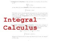 What is a good resource for learning Calculus in a way that you