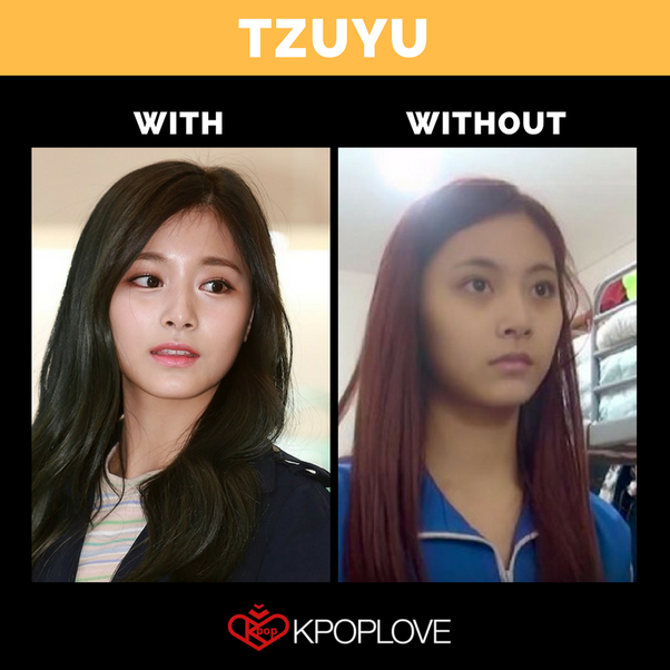 How Does Twice Tzuyu Look Without Makeup Quora