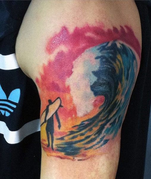 What Does A Wave Tattoo Mean Quora