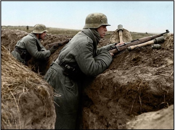 How effective were the German stick grenade as a defensive