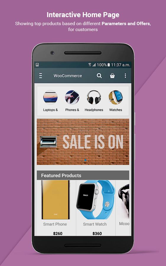 I need to convert my WordPress WooCommerce website to mobile app  Is