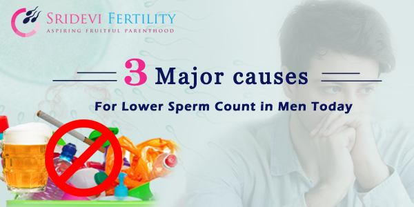 reduce sperm count for a girl