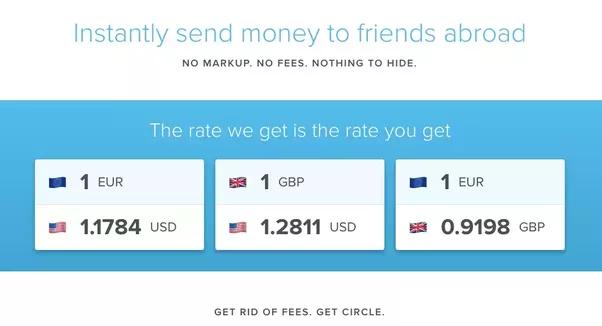 Comment les startups telles que Circle peuvent-elles transférer de l'argent gratuitement avec des envois de fonds internationaux, alors que les autres startups blockchain facturent des frais de transaction?