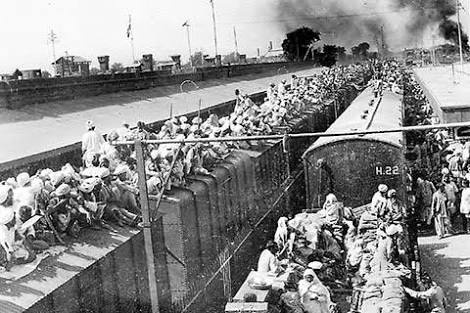 describe the partition of india