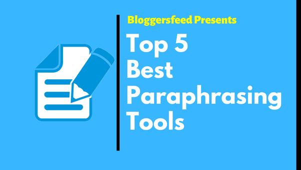 essay paraphrasing tool